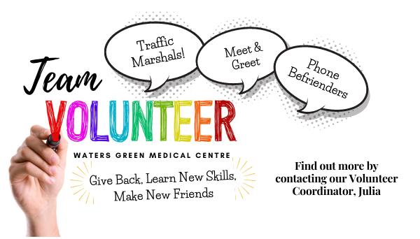 We Need You for Team Volunteer